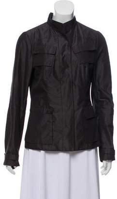 Narciso Rodriguez Mock Collar Lightweight Jacket