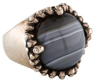 Elizabeth and James Agate Ring