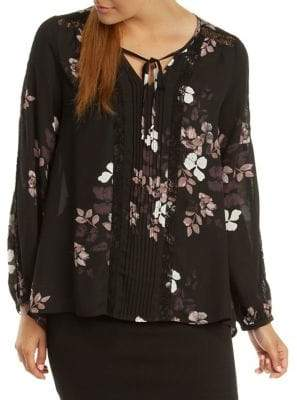 Dex Floral Lace Blouse