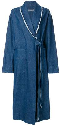 Raquel Allegra denim duster jacket
