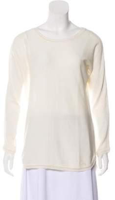 Anine Bing Long Sleeve Scoop Neck Sweater