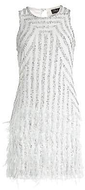 Parker Black Women's Allegra Embellished Mini Dress