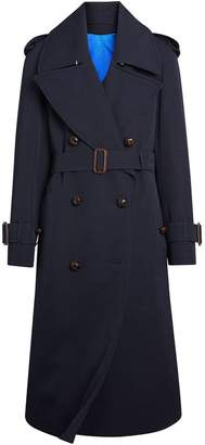 Burberry Oversized Lapel Gabardine trench coat