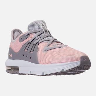 Nike Girls' Preschool Sequent 3 Running Shoes