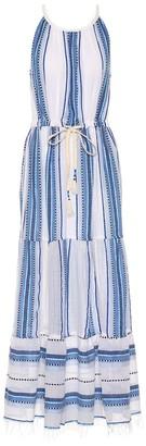 Lemlem Welela cotton-blend midi dress