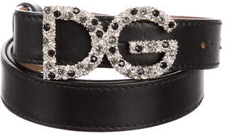 Dolce & Gabbana D&G Leather Waist Belt