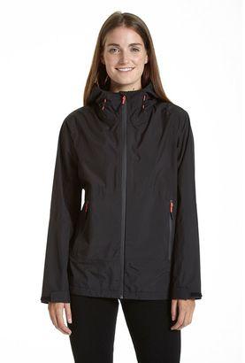 Women's Champion Hooded Waterproof Rain Jacket $200 thestylecure.com
