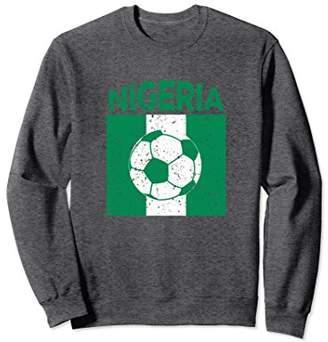 Nigeria Soccer 2018 T Shirt Men Nigerian Flag Football Fan