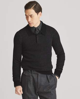 Ralph Lauren Cashmere Polo Sweater