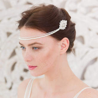 Britten Weddings Wedding Hair Comb With Chains