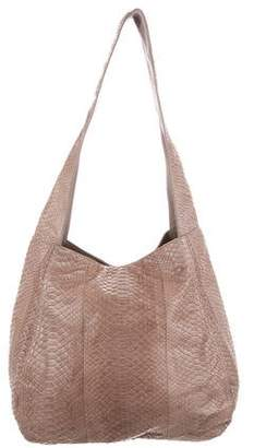 Michael Kors Python & Leather Hobo