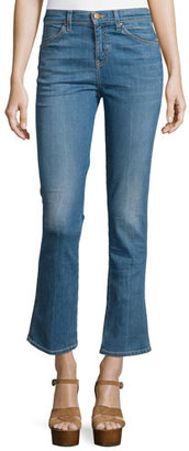 The Great The Nerd Jean, True Blue Crease Wash $265 thestylecure.com