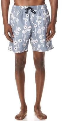 Saturdays NYC Timothy Poppy Swim Shorts