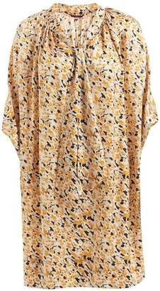 WtR - Sheena Print Scarf Dress Champagne