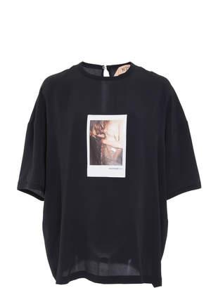 N°21 N 21 Goldy Poloroid T-Shirt