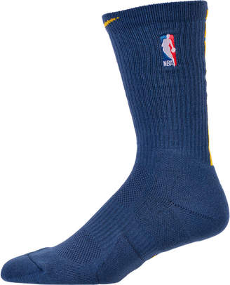 c970939684b8 Nike Unisex Golden State Warriors NBA City Edition Elite Crew Basketball  Socks