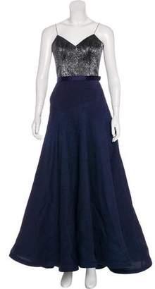 Jason Wu Embellished Silk Gown