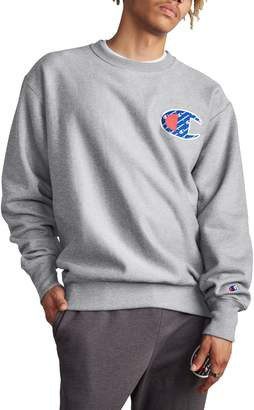 Champion Sublimated Logo Crewneck Sweatshirt