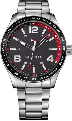 Tommy Hilfiger Men's Stainless Steel Bracelet Watch 44mm 1791176 $65 thestylecure.com