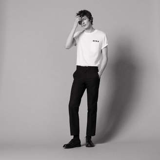 Sandro Straight-cut city-fit trousers