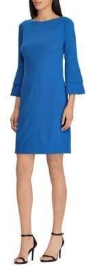 Lauren Ralph Lauren Petite Crepe Bell-Sleeve Dress