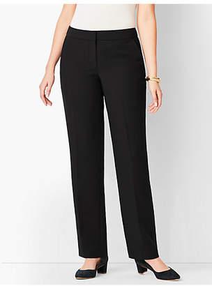 Talbots Seasonless Crepe Straight-Leg Pant - Curvy Fit
