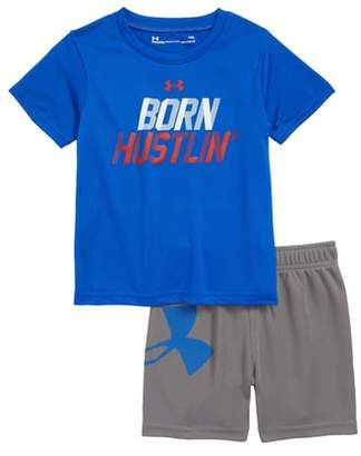 Under Armour Born Hustlin T-Shirt & Shorts