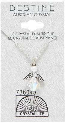 Crystallite Destine Austrian Crystal AB Angel Necklace