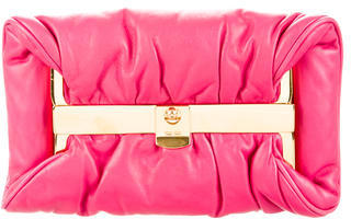 Miu Miu Miu Miu Smooth Leather Clutch