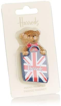 Harrods Union Jack Bear Magnet