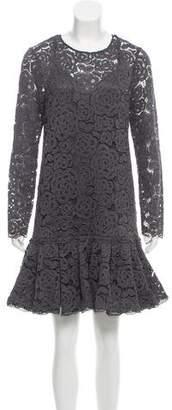 DKNY Lace Midi Dress