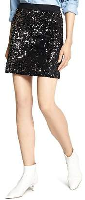 Sanctuary Ready For The Night Sequined Mini Skirt