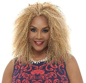 Vivica A Fox Hair Collection Juri Synthetic Heat Resistant Fiber Natural Baby Lace Front Wig