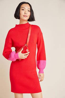 Line & Dot Alder Mock Neck Sweater Dress