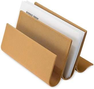Giorgio Fedon Camel Desk Letter Holder