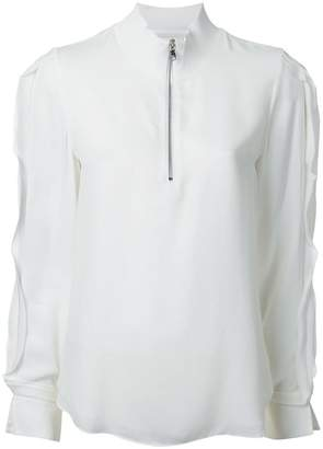 3.1 Phillip Lim high collar blouse