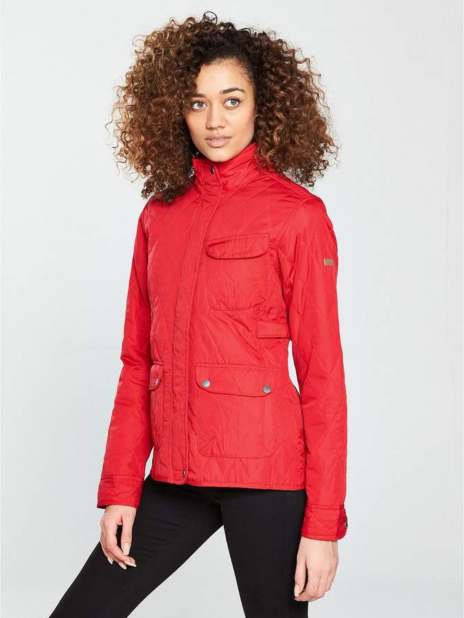 Camryn Quilted Jacket - Red