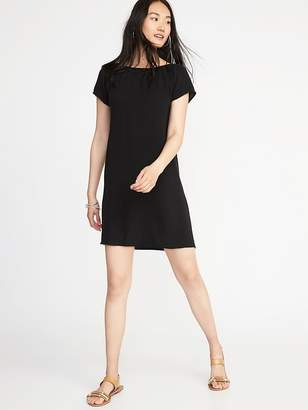 Old Navy Smocked-Neck Shift Dress for Women