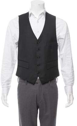 Saint Laurent Wool Tweed Vest