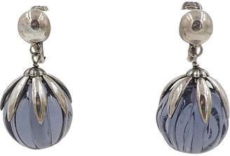 One Kings Lane Vintage Napier Purple Doris Day Earrings