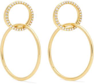 Jemma Wynne - 18-karat Gold Diamond Earrings