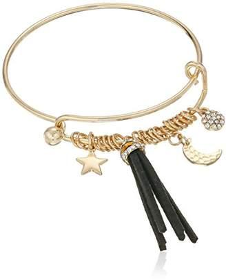 Cara Wire Bracelet with Celestials Charm Bracelet