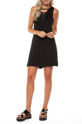 Dex Lace Up Dress