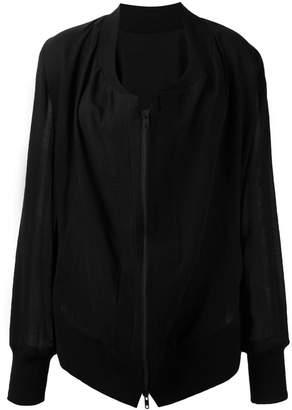 Ann Demeulemeester zipped lightweight jacket