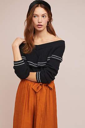 BB Dakota Oakley Off-The-Shoulder Sweater