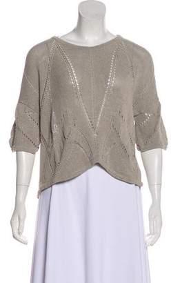 Helmut Lang Lightweight Linen Sweater