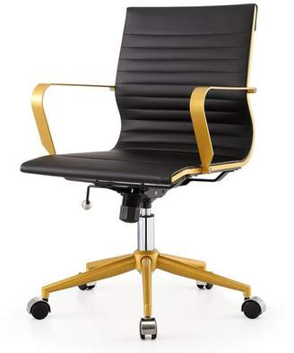 Meelano Mid-Back Office Chair Seat