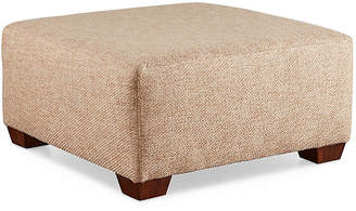 Joe Ruggiero Collection Gable Ottoman - Natural