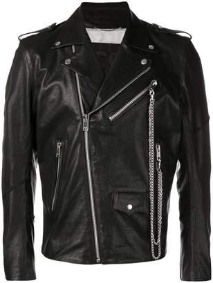 Diesel classic biker jacket