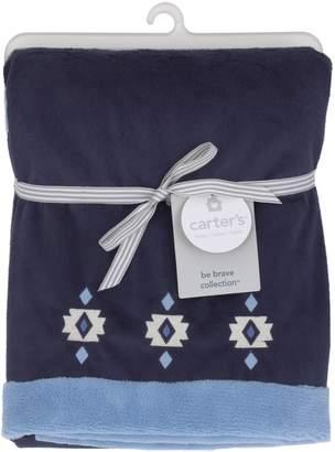 Carter's Be Brave - Appliqued Baby Blanket/